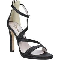 Buty Damskie Sandały Grace Shoes 2383007 Czarny