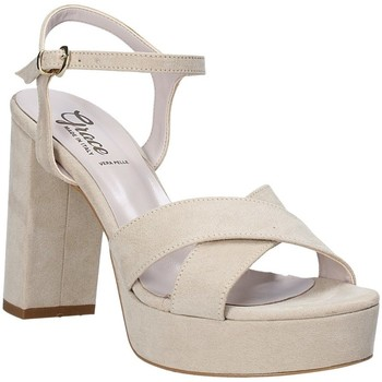 Buty Damskie Sandały Grace Shoes 492PL003 Beżowy