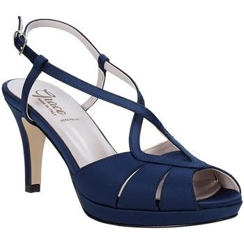 Buty Damskie Sandały Grace Shoes 738E008 Niebieski