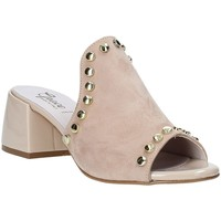 Buty Damskie Klapki Grace Shoes 1576006 Beżowy