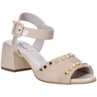 Buty Damskie Sandały Grace Shoes 1576004 Beżowy