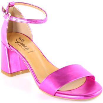 Buty Damskie Sandały Grace Shoes 380008 Różowy