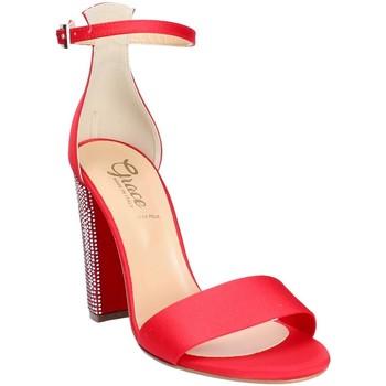 Buty Damskie Sandały Grace Shoes 1569 Czerwony