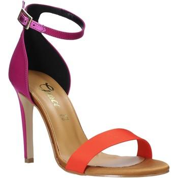Buty Damskie Sandały Grace Shoes 018Y037 Pomarańczowy