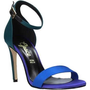 Buty Damskie Sandały Grace Shoes 018Y037 Zielony
