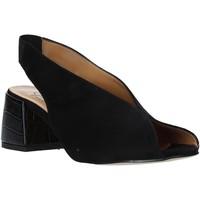 Buty Damskie Sandały Grace Shoes 1576002 Czarny