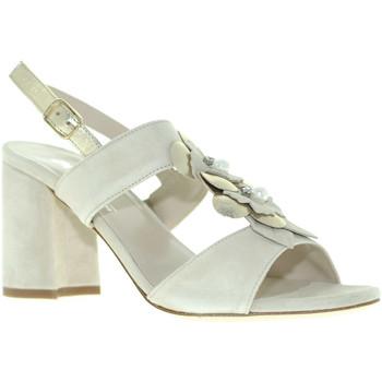 Buty Damskie Sandały Melluso S521 Beżowy