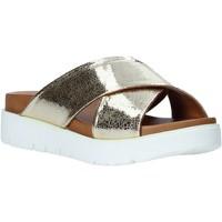 Buty Damskie Klapki Bueno Shoes 9N3408 Złoto