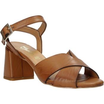 Buty Damskie Sandały Grace Shoes 380045 Brązowy