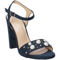 Buty Damskie Sandały Grace Shoes 1396 Niebieski