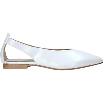 Buty Damskie Sandały Mally 6817 Biały