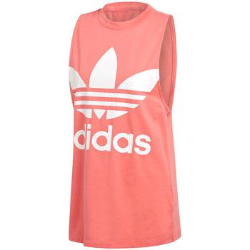 tekstylia Damskie Topy na ramiączkach / T-shirty bez rękawów adidas Originals DH3170 Różowy