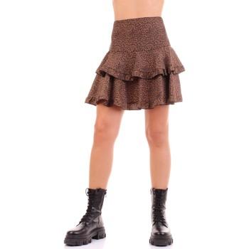 tekstylia Damskie Spódnice Vicolo TW0723 Brązowy