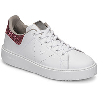 Buty Damskie Trampki niskie Victoria UTOPIA GLITTER Biały / Różowy