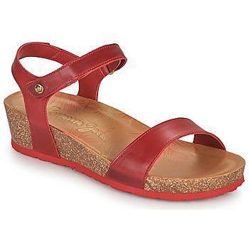 Buty Damskie Sandały Panama Jack CAPRI Czerwony