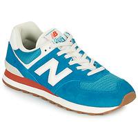 Buty Męskie Trampki niskie New Balance 574 Niebieski / Biały