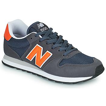 Buty Męskie Trampki niskie New Balance 500 Niebieski / Pomarańczowy