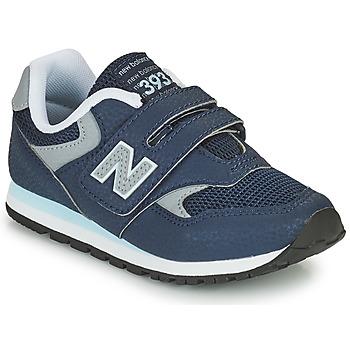 Buty Chłopiec Trampki niskie New Balance 393 Niebieski