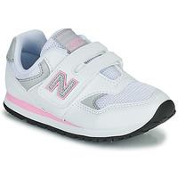Buty Dziewczynka Trampki niskie New Balance 393 Biały / Różowy