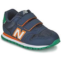 Buty Chłopiec Trampki niskie New Balance 500 Niebieski / Pomarańczowy