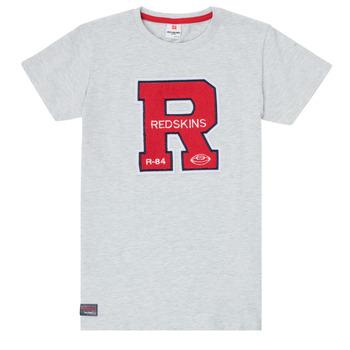 tekstylia Chłopiec T-shirty z krótkim rękawem Redskins TSMC180161-BLENDED-GREY Szary