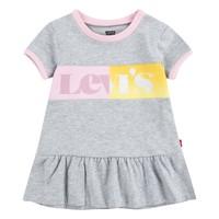 tekstylia Dziewczynka Sukienki krótkie Levi's 1EC694-G2H Szary