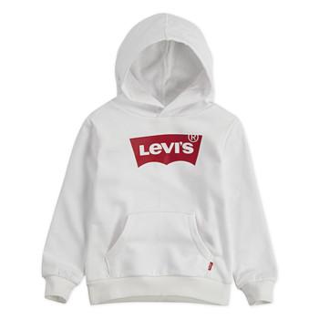 tekstylia Chłopiec Bluzy Levi's BATWING HOODIE Biały