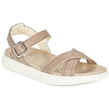 Buty Damskie Sandały Geox D XAND 2S B Beżowy