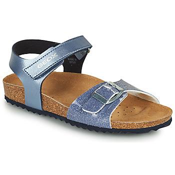 Buty Dziewczynka Sandały Geox ADRIEL GIRL Niebieski