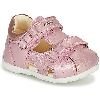 Buty Dziewczynka Sandały Geox KAYTAN Różowy