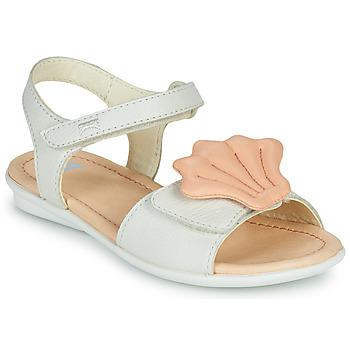 Buty Dziewczynka Sandały Camper TWINS Różowy / Biały