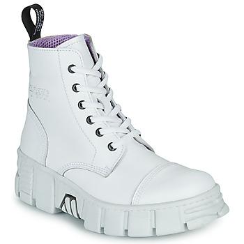 Buty Buty za kostkę New Rock M-WALL005-C1 Biały