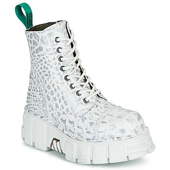 Buty Buty za kostkę New Rock M-MILI083C-V9 Biały