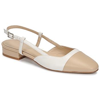Buty Damskie Sandały Jonak DHAPOU Beżowy / Biały