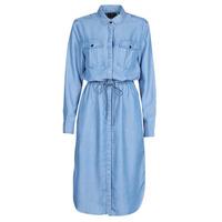 tekstylia Damskie Sukienki długie G-Star Raw Rovic maxi shirt dress ls Lt