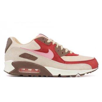 Buty Trampki wysokie Nike DQM x Nike Air Max 90 ?Bacon? Sail/Straw-Medium Brown-Sheen