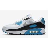 Buty Trampki wysokie Nike Air Max 90 ?Laser Blue? White/Black-Grey Fog-Laser Blue