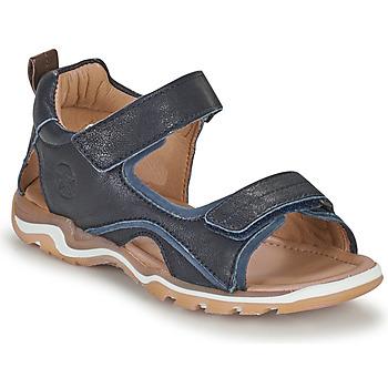 Buty Chłopiec Sandały sportowe Bisgaard CASPAR Marine