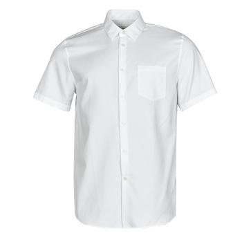 tekstylia Męskie Koszule z krótkim rękawem Lacoste FOLLA Biały