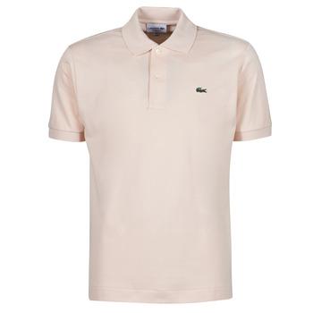tekstylia Męskie Koszulki polo z krótkim rękawem Lacoste POLO CLASSIQUE L.12.12 Różowy