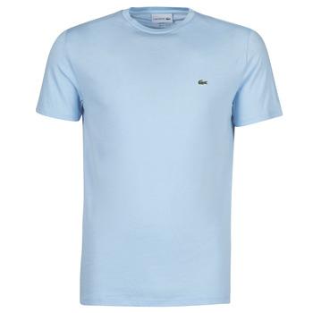 tekstylia Męskie T-shirty z krótkim rękawem Lacoste ALFED Niebieski