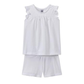 tekstylia Dziewczynka Piżama / koszula nocna Petit Bateau FRIDGET Wielokolorowy