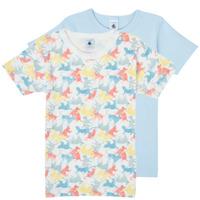 tekstylia Chłopiec T-shirty z krótkim rękawem Petit Bateau MANUR Wielokolorowy