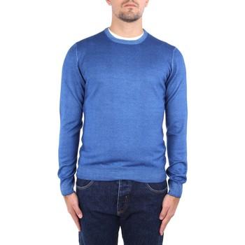 tekstylia Męskie Swetry La Fileria 22792 55167 Niebieski
