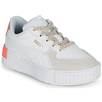 Buty Dziewczynka Trampki niskie Puma CALI SPORT PS Biały / Różowy