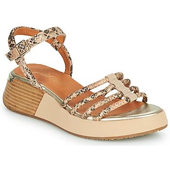Buty Damskie Sandały Mam'Zelle CALVA Beżowy