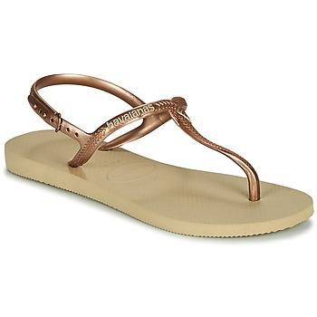 Buty Damskie Sandały Havaianas TWIST Beżowy