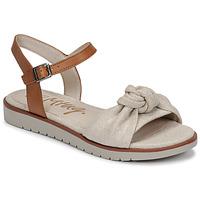 Buty Damskie Sandały MTNG 50506 Beżowy