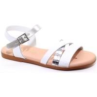 Buty Dziewczynka Sandały Oh My Sandals 24562-24 Biały