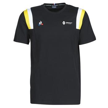 tekstylia Męskie T-shirty z krótkim rękawem Le Coq Sportif RENAULT FANWEAR 20 Tee SS M Czarny